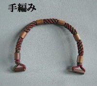 竹ビーズ手編み1