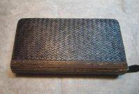 竹張り財布4