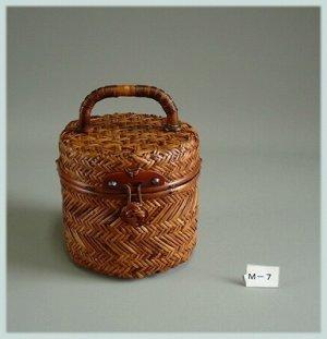 画像1: 竹バッグ7
