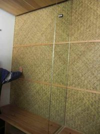 竹編天井、建具3
