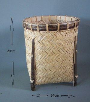 画像1: 竹篭10