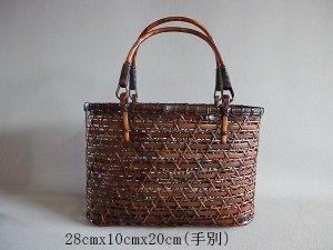 画像1: 竹バッグ57