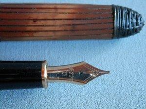 画像3: 装飾万年筆煤竹