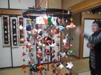 吊し雛用竹の輪
