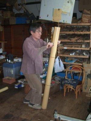 画像1: 竹割り1日体験
