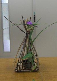 竹かご制作体験