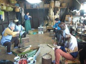 画像1: 竹のワークショップ