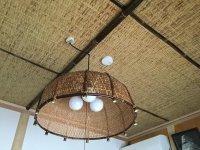 竹編天井、建具5
