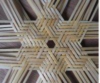 蜘蛛の巣編み