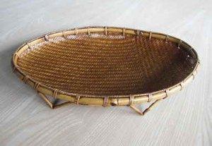 画像1: 竹かご盛り器1