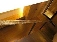竹編天井、建具4