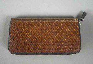 画像1: 竹張り財布3
