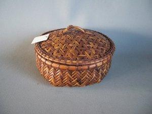 画像1: 竹かご菓子器1